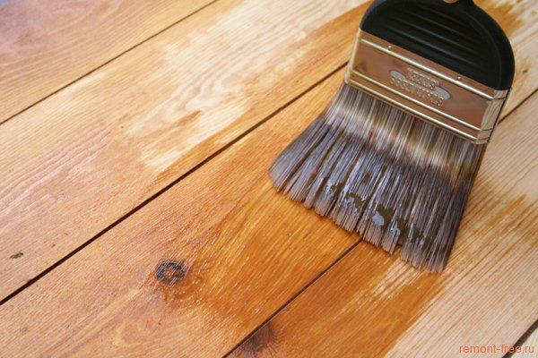 Лак для деревянного пола