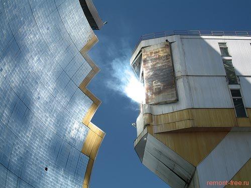 Solar Furnace Солнечная печь