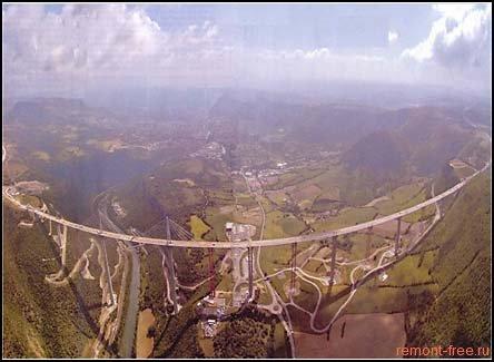 Мировой рекорд – мост Виадук Мийо