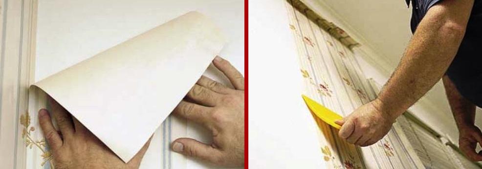 поклейка бумажных обоев своими руками