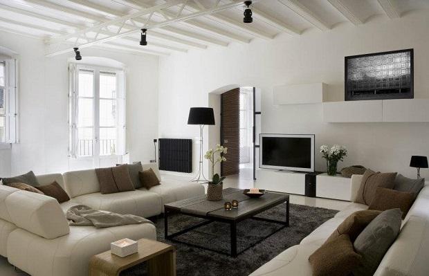 Дизайн квартиры в Барселоне