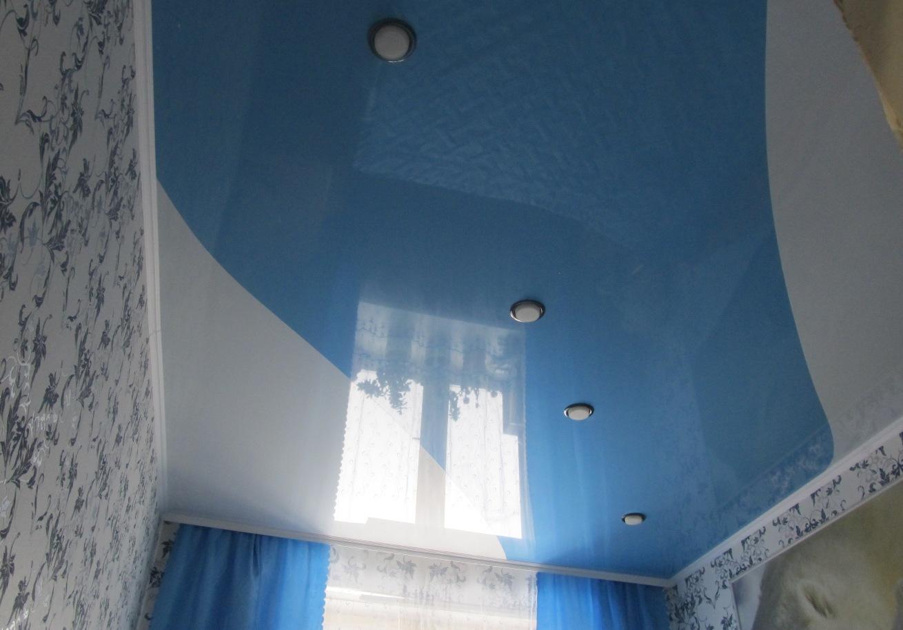 Как выбрать натяжной потолок для детской