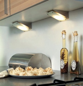 Освещение кухни фото