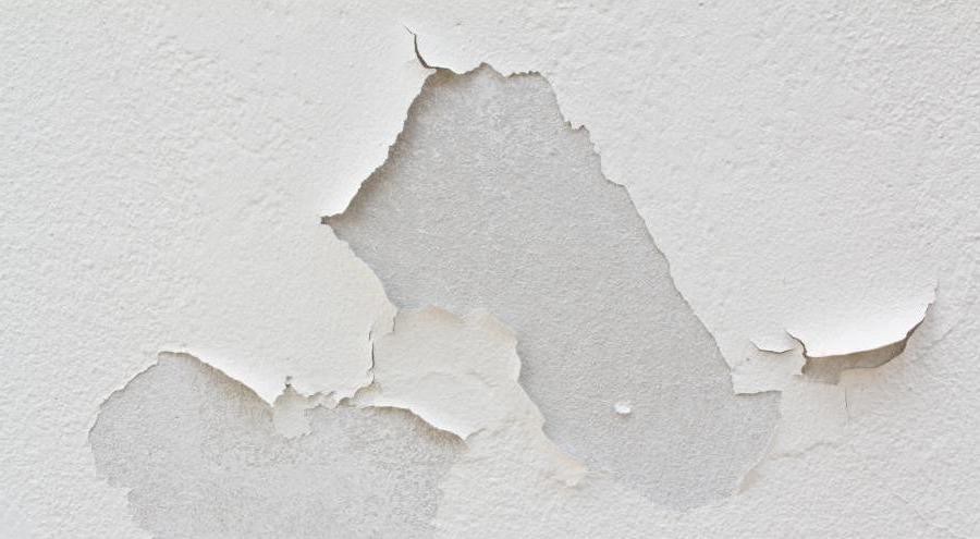 дефекты покраски стен