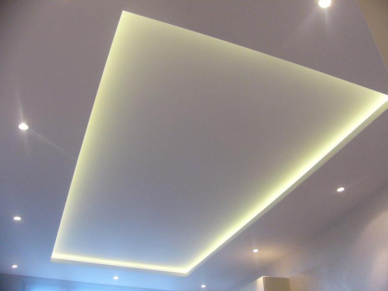 Какой лучше сделать потолок из гипсокартона