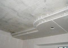Какой сделать потолок из гипсокартона