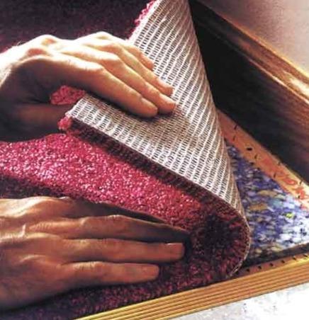 Как постелить ковролин своими руками