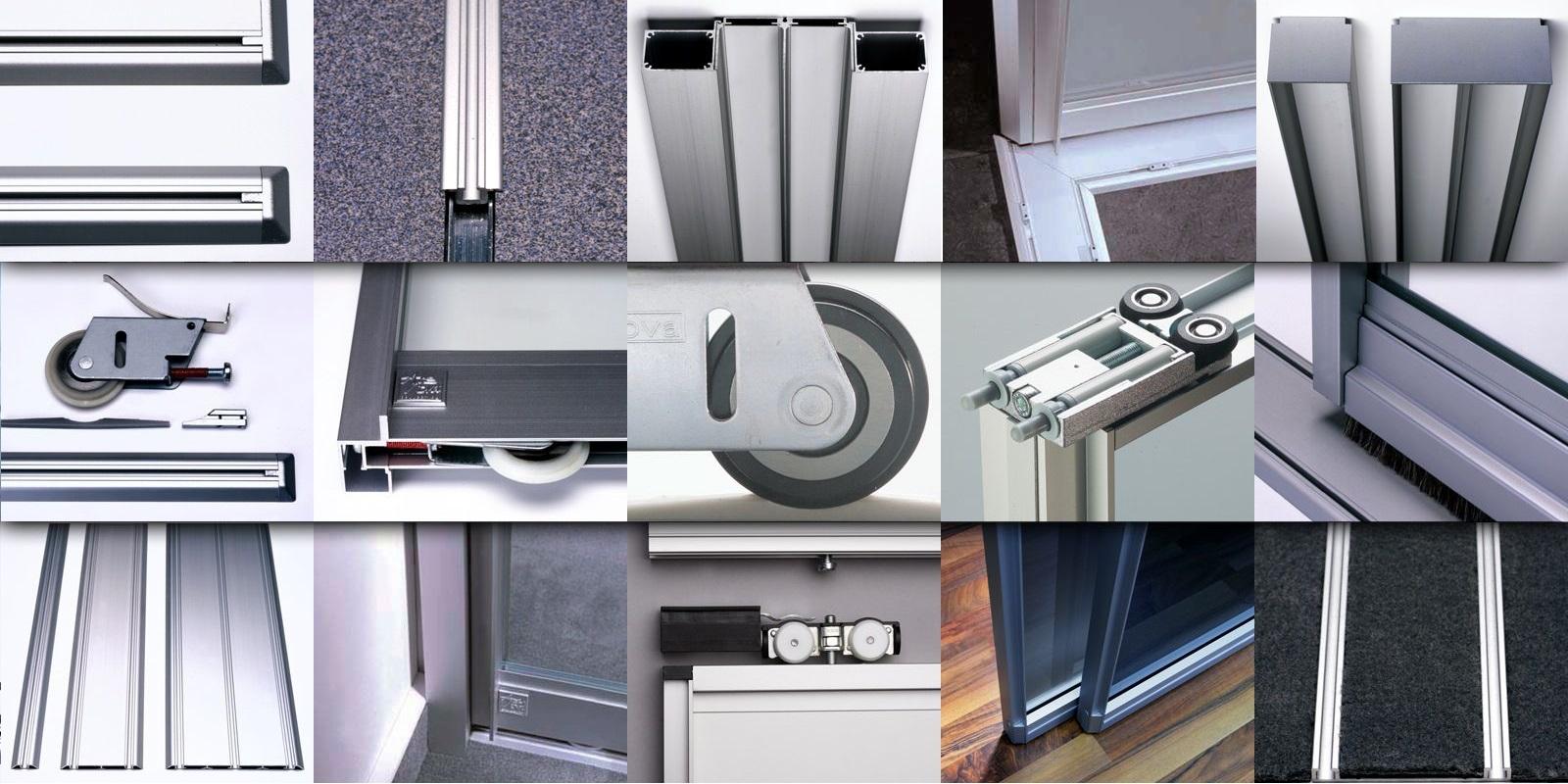 Разновидности раздвижных дверей