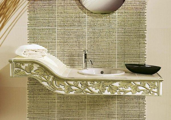 керамическая плитка в японском стиле