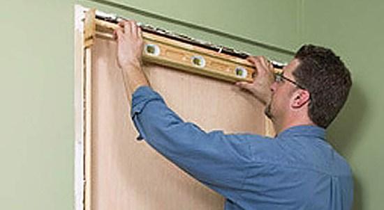 как замерить раздвижную межкомнатную одностворчатую дверь