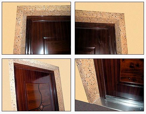 Откосы для входных дверей из МДФ
