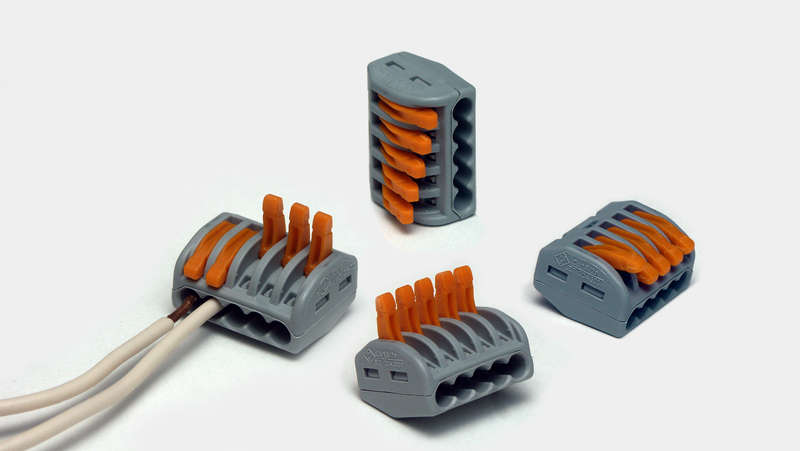 Cамозажимные клемники для электропроводки