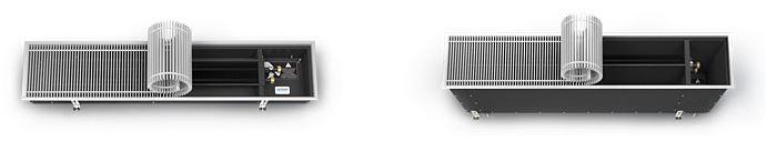 Технические характеристики встраиваемых конвекторов отопления