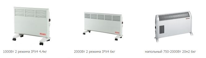 конвектор отопления - принцип работы