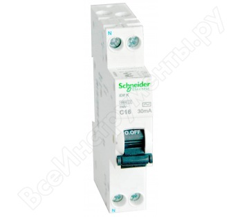 Дифавтомат Acti 9 iDif K Schneider ELectric A9D63616