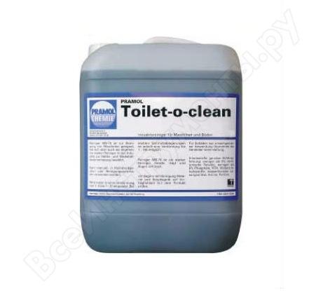 Очиститель TOILET-O-CLEAN (0.75 л) для удаления известковых отложений Pramol 2543.501