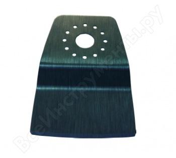 Шабер плоский для снятия линолеума, паркета (рабочая часть 52мм; сталь HСS; 1 шт.) СПЕЦ-0120001